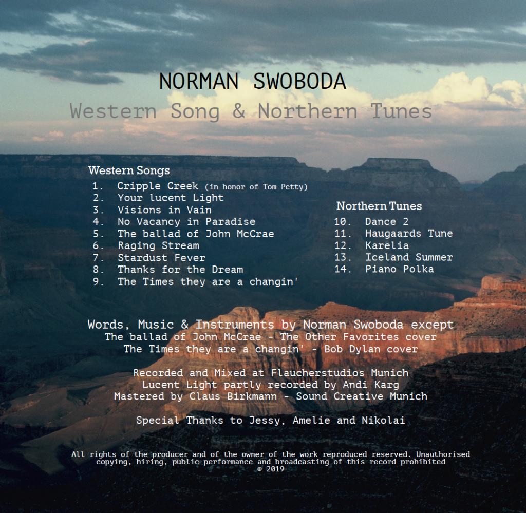 Norman SwobodaBack